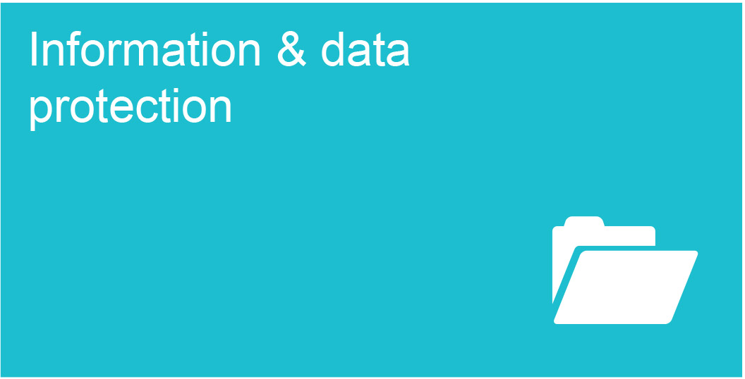 Information and data protection