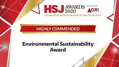HSJ Awards 2020 - HC - Environmental Sustainability Award