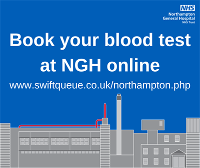 Online blood test booking