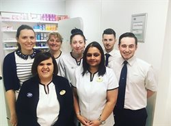 Boots pharmacy staff