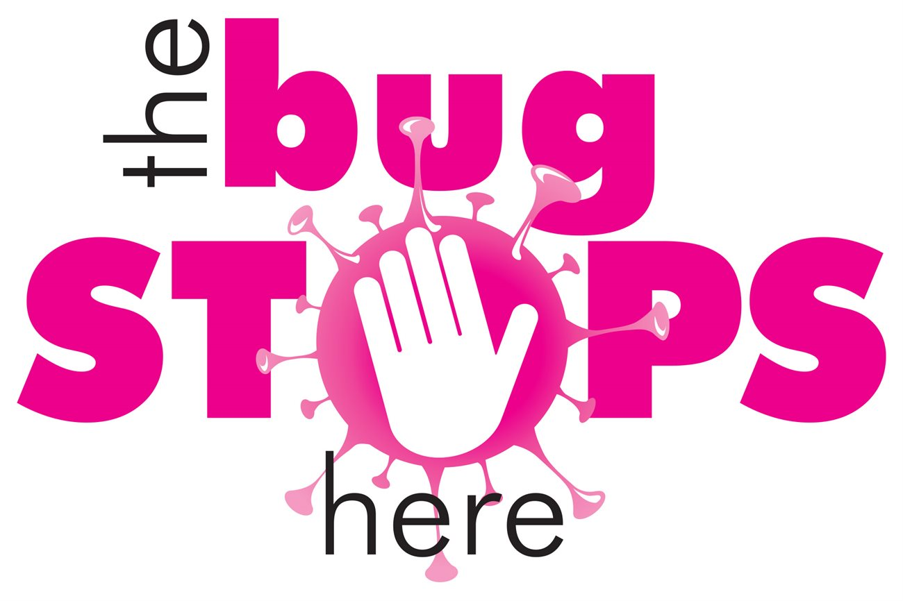 The Bug Stops here approved logo OP