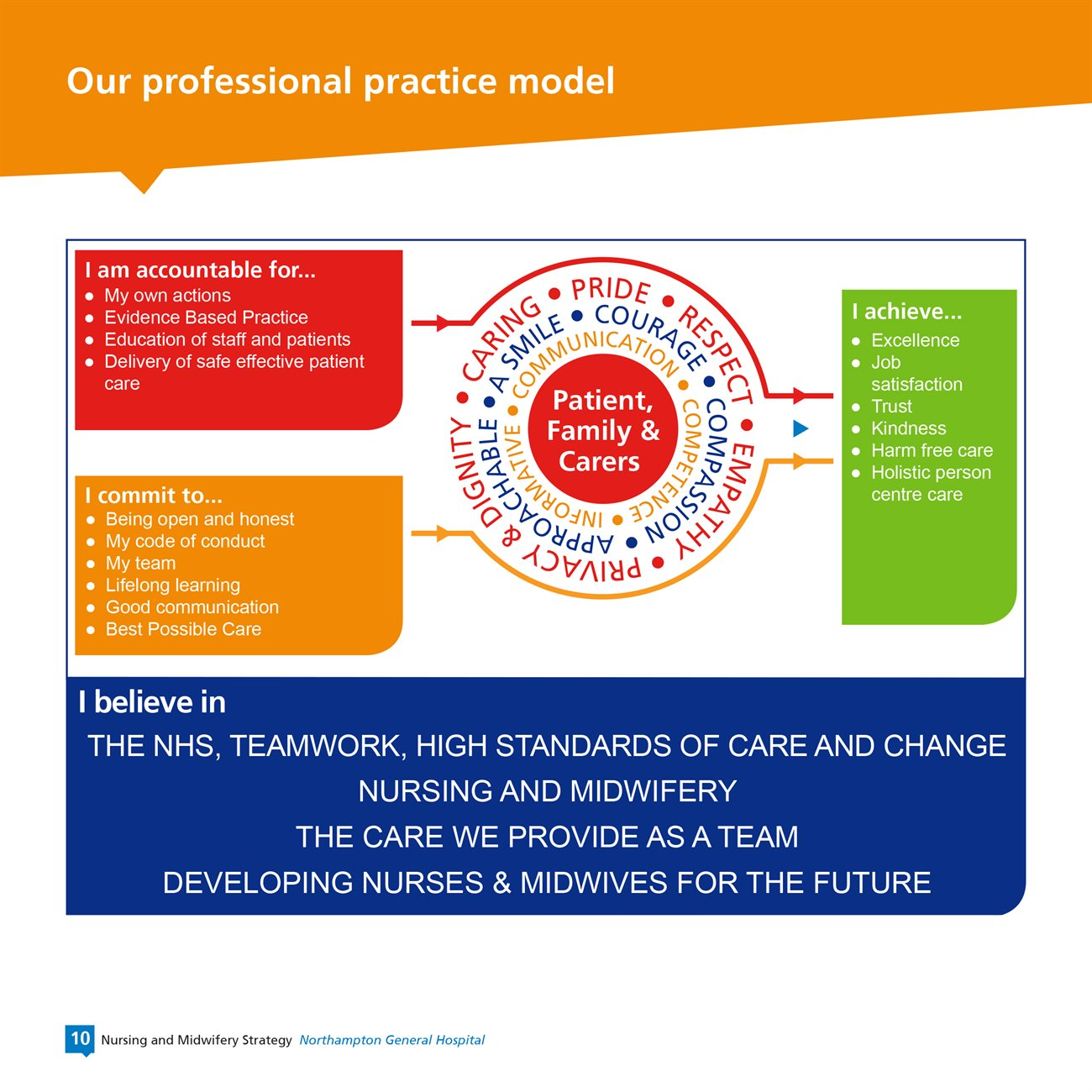 Our nursing and midwifery strategy for Nursing Professional Practice Model  83fiz