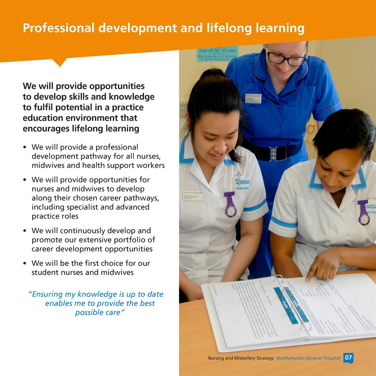Nursing and Midwifery Strategy 2017 -2020 booklet v12-7